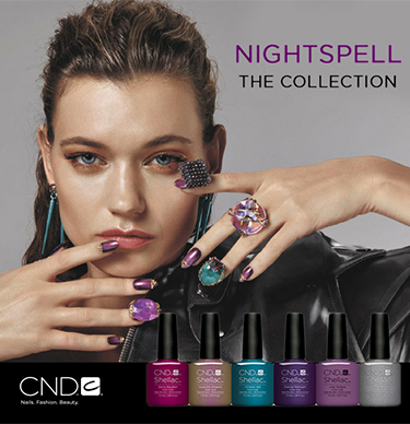 Nova jesenja kolekcija CND Shellac Nightspell Collection