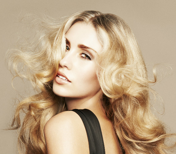 Be blonde and beautiful