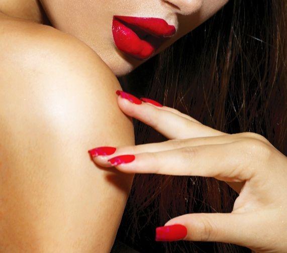 Juliana Nails – neon crveni gel-lak